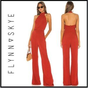 NWT Flynn Skye Ava Jumpsuit in Spice, Small